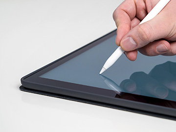 Tablet mit Stift